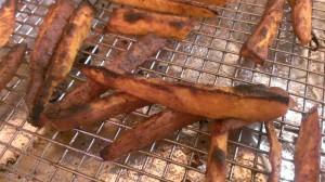 Sweet Potato Fries: Serves 2-4